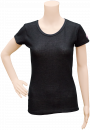 SMART-Tiers_Ladies-Short-Sleeve-Shirt_Black-Solid_Front_DSC_0074