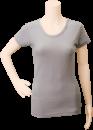 SMART-Tiers_Ladies-Short-Sleeve-Shirt_Gray-Solid_Front_DSC_0001